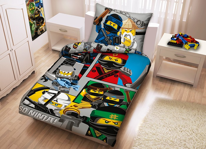 Lenjerie de pat, LEGO Ninjago Movie