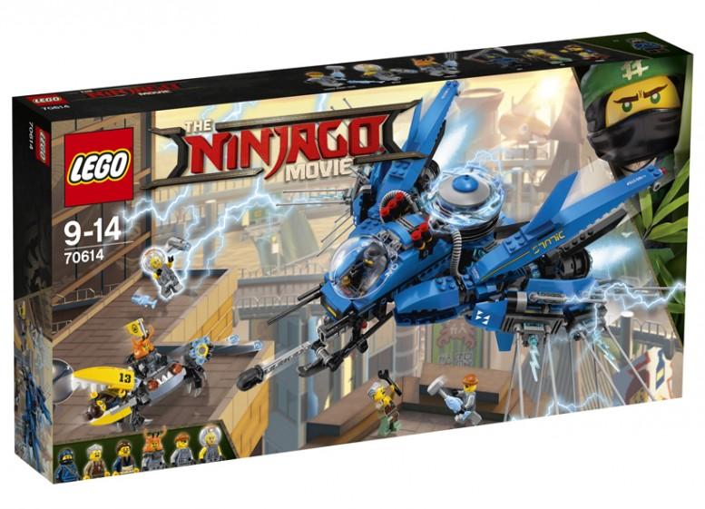 Avion cu reactie, 70614, LEGO, LEGO Ninjago
