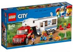 Camioneta si rulota, 60182, LEGO